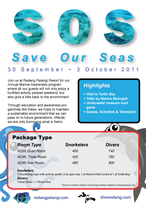 S.O.S Save Our Seas - Marine Awareness 2011 Event