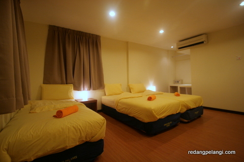 Redang Pelangi Triple Room